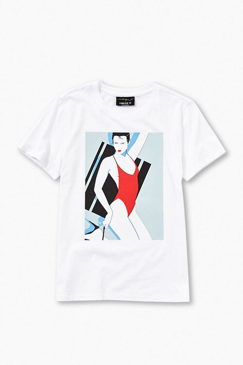 Patrick Nagel Graphic Tee, image 1