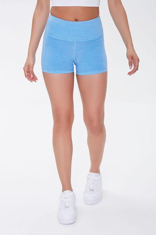 Active Cotton-Blend Biker Shorts, image 2