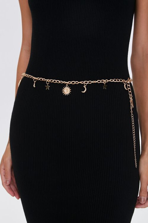 Celestial Charm Belly Chain, image 1