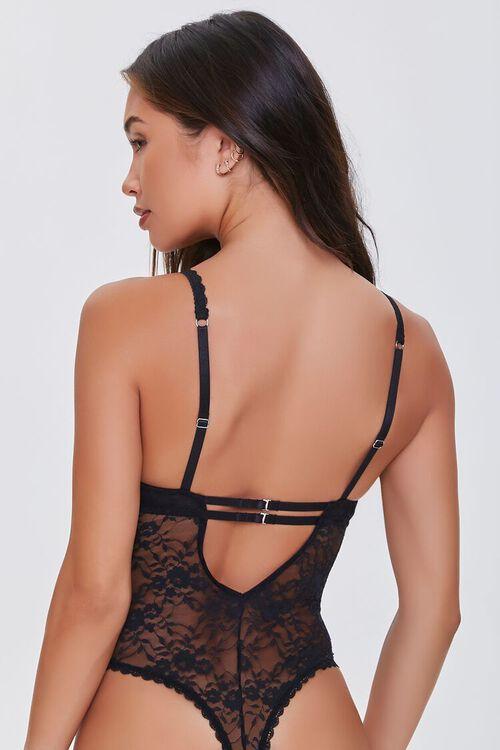 Lace Cutout Bodysuit, image 3