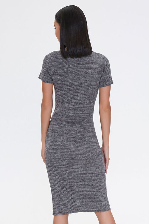 Heathered Bodycon Dress, image 3