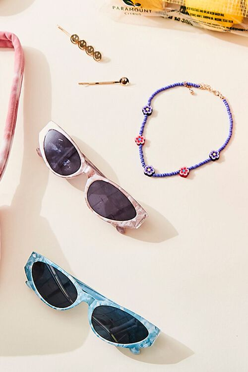 Marbled Oval Sunglasses, image 1