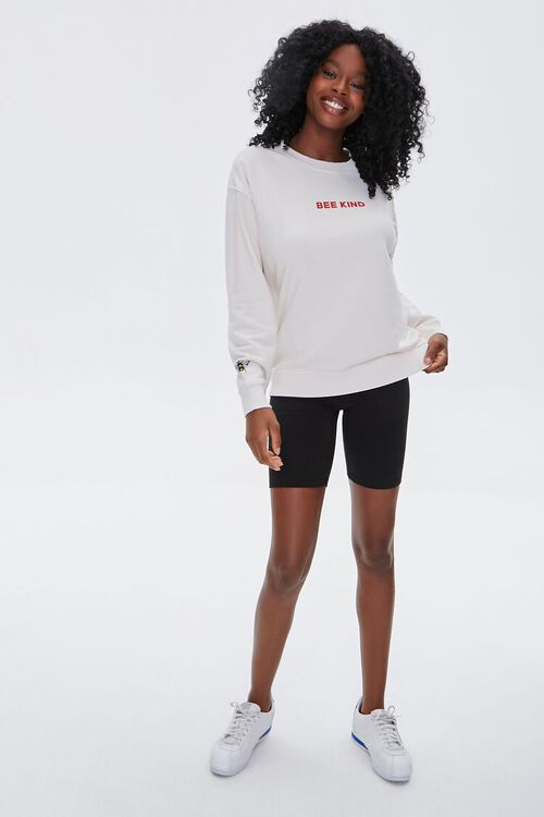 French Terry Bee Kind Pullover, image 6