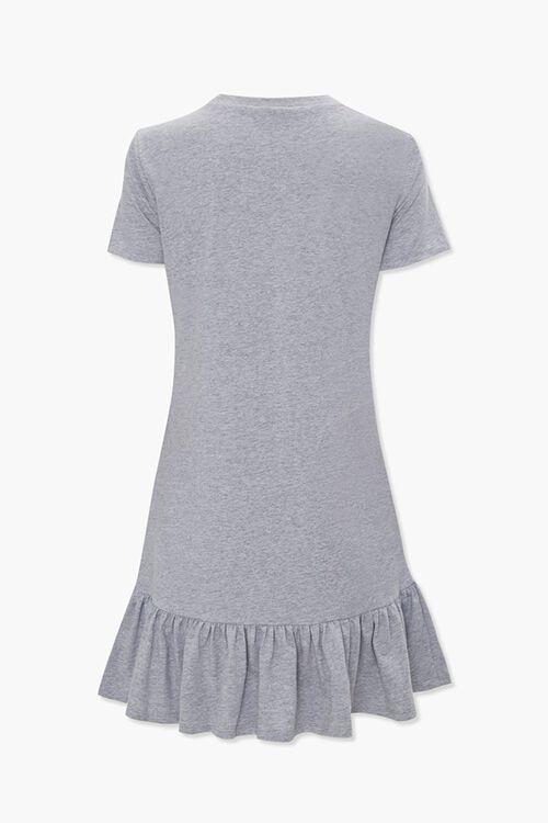 Ruffle-Hem T-Shirt Dress, image 2