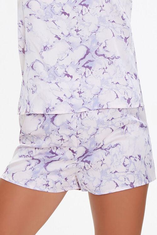 PINK/MULTI Marble Print Cami & Shorts Pajama Set, image 5