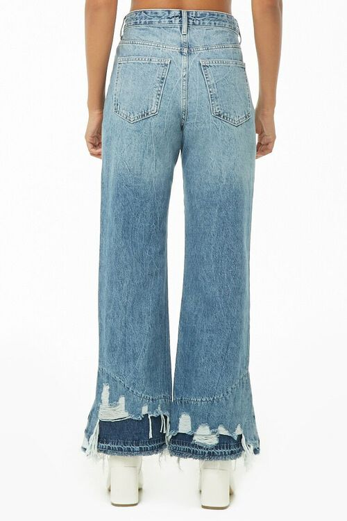 Distressed Wide-Leg Jeans, image 3