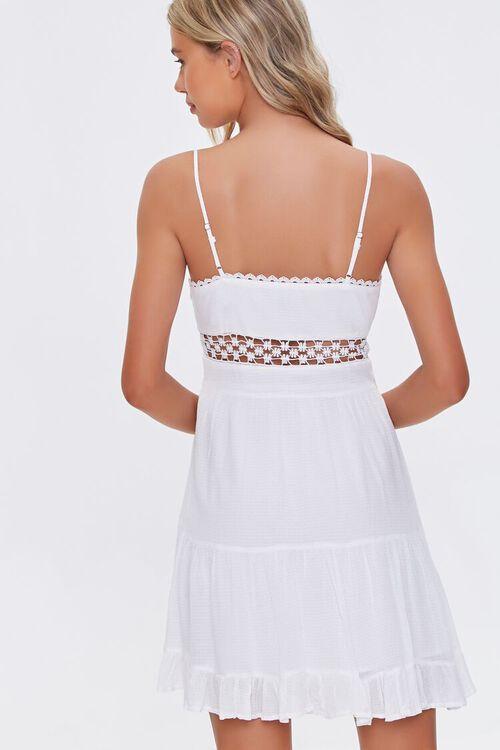 Lace-Trim Mini Dress, image 3