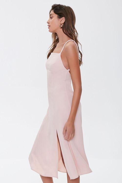 Side-Slit Cutout Cami Midi Dress, image 2