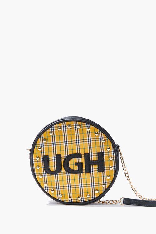 YELLOW/MULTI Ugh Graphic Crossbody Bag, image 1
