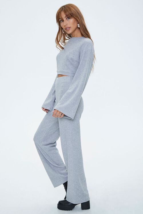 Bell Sleeve Pullover & Flare Pants Sets, image 2