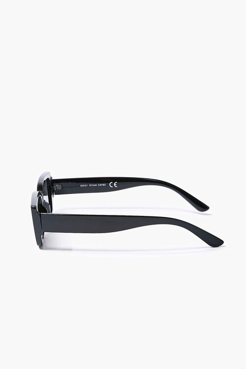 Semi-Translucent Rectangle Sunglasses, image 3