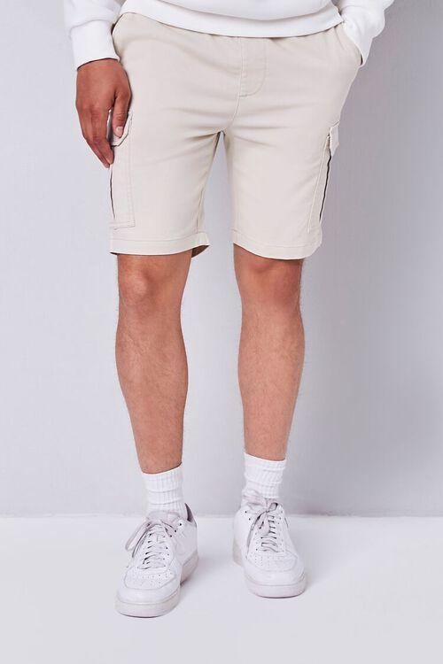 Drawstring Cargo Shorts, image 3