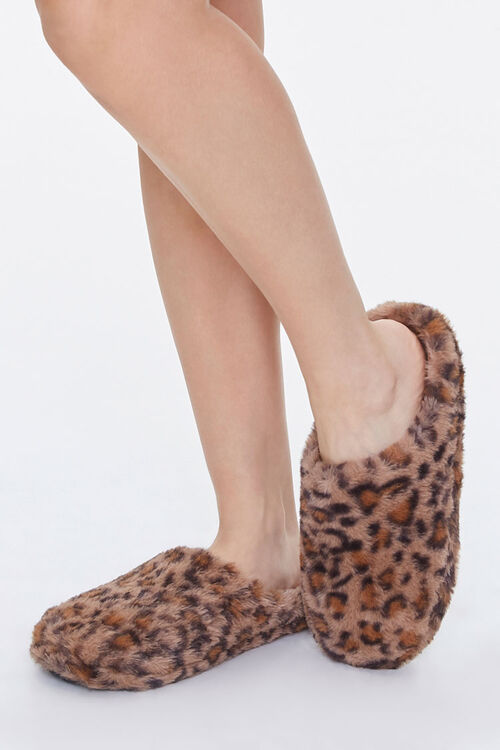 Leopard Print Slippers, image 1