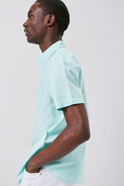 Fitted Oxford Pocket Shirt, image 2