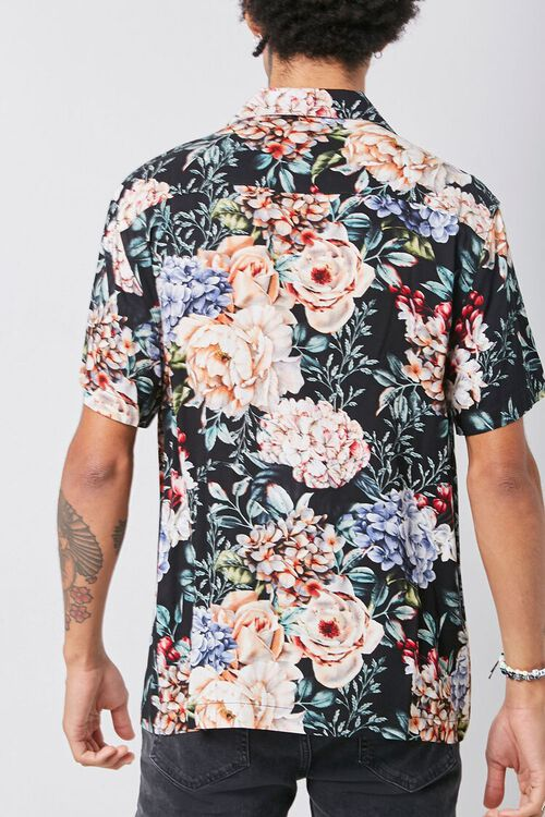 Classic Fit Floral Shirt, image 3