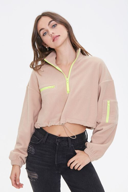 Active Fleece Half-Zip Pullover, image 1