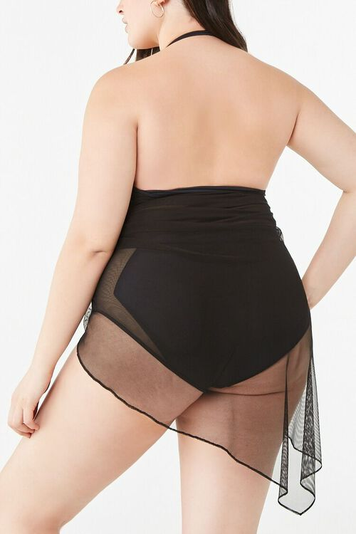 Plus Size Sarong Swim Cover-Up, image 3