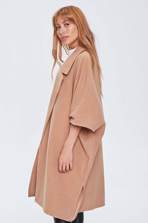 Open-Front Cocoon Coat, image 2