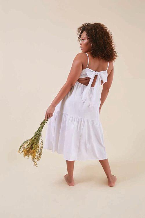 Plus Size Knotted Cutout Dress, image 1