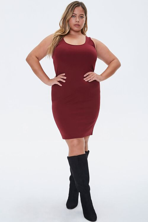 Plus Size Bodycon Mini Dress, image 4