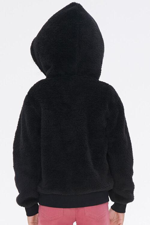 Girls Hooded Teddy Coat (Kids), image 3