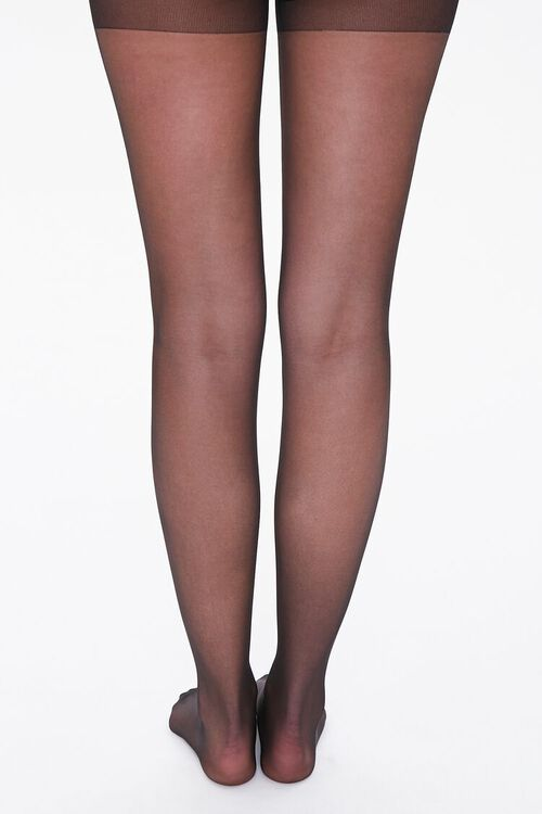 Plus Size Sheer Tights, image 3