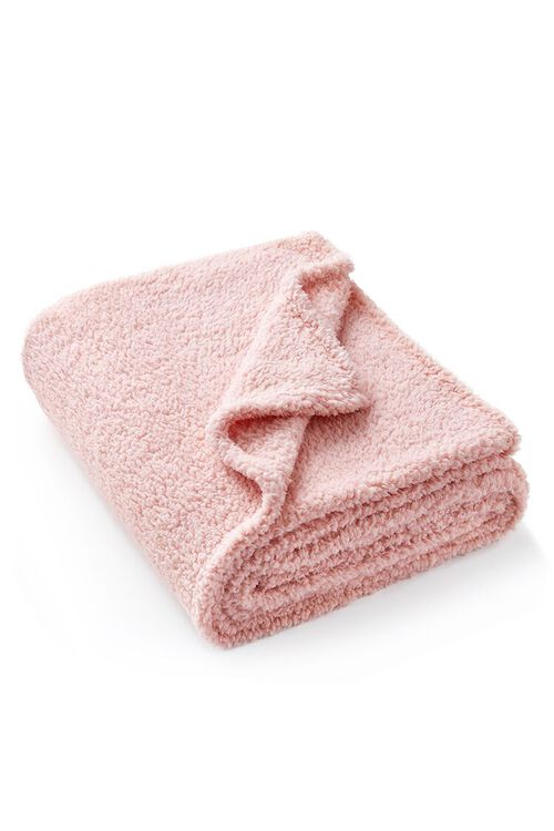 Faux Shearling Throw Blanket, image 2