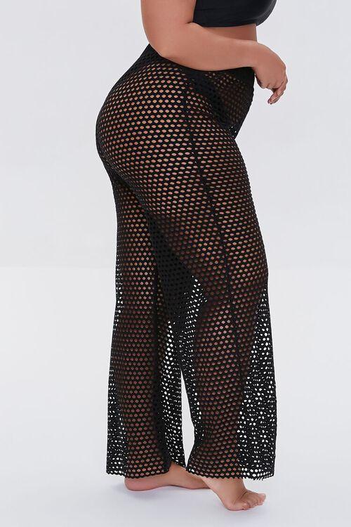 Plus Size Mesh Swim Cover-Up Pants, image 3