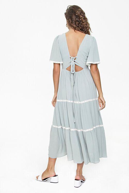 Crochet-Trim Maxi Dress, image 4