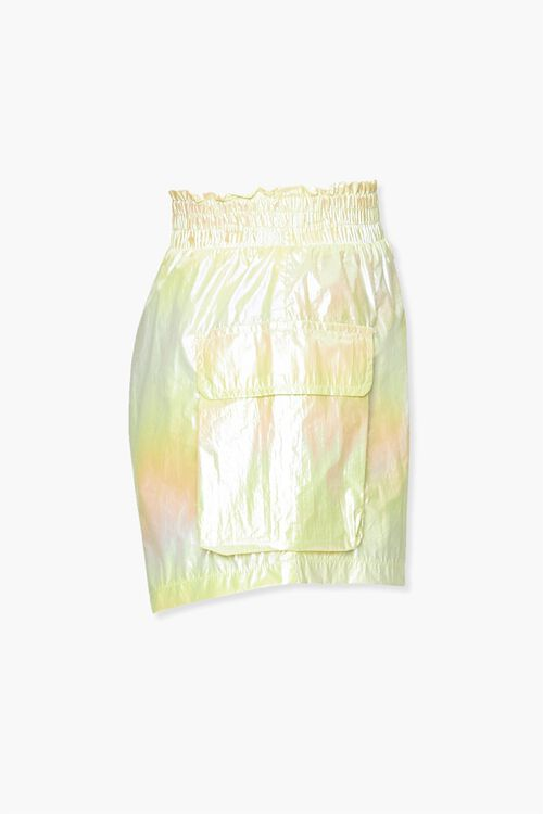 Iridescent Paperbag Shorts, image 2