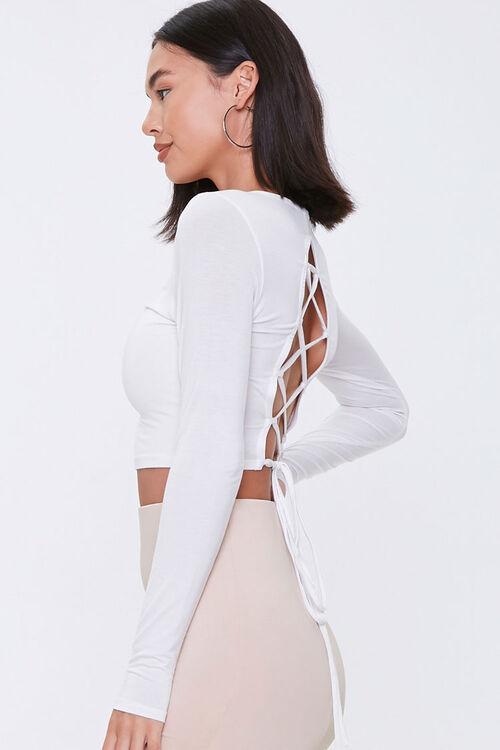 Lace-Back Crop Top, image 2