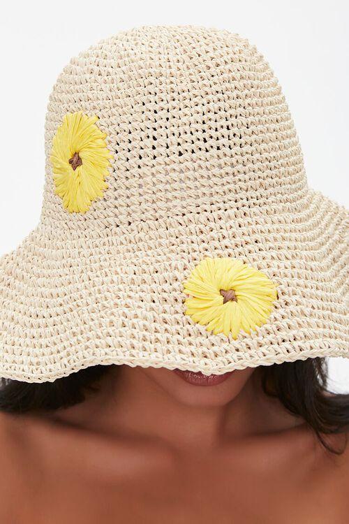 Sunflower Print Bucket Hat, image 2