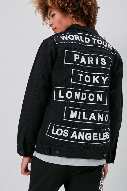 World Tour Graphic Denim Jacket, image 1
