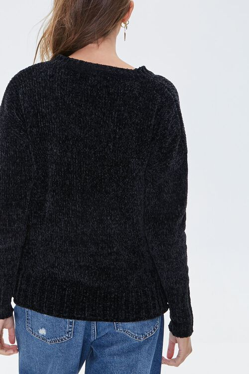 Chenille Drop-Sleeve Sweater, image 3