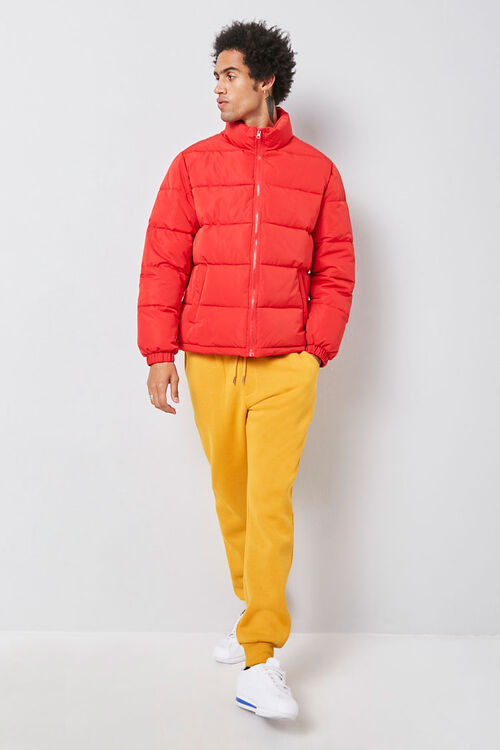 Zip-Up Puffer Jacket, image 3