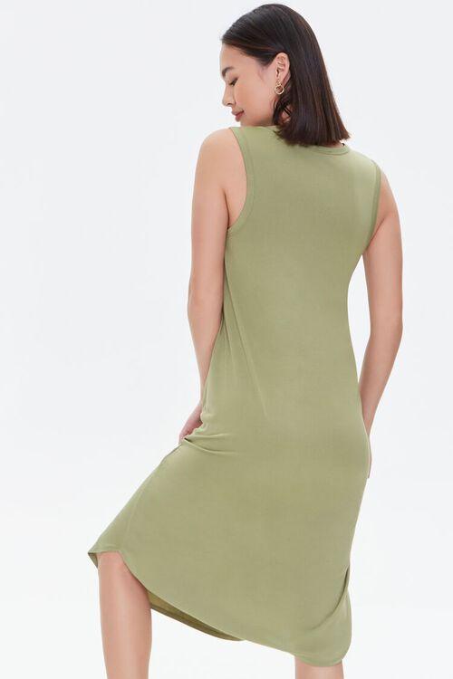 Dolphin-Hem Tank Dress, image 3