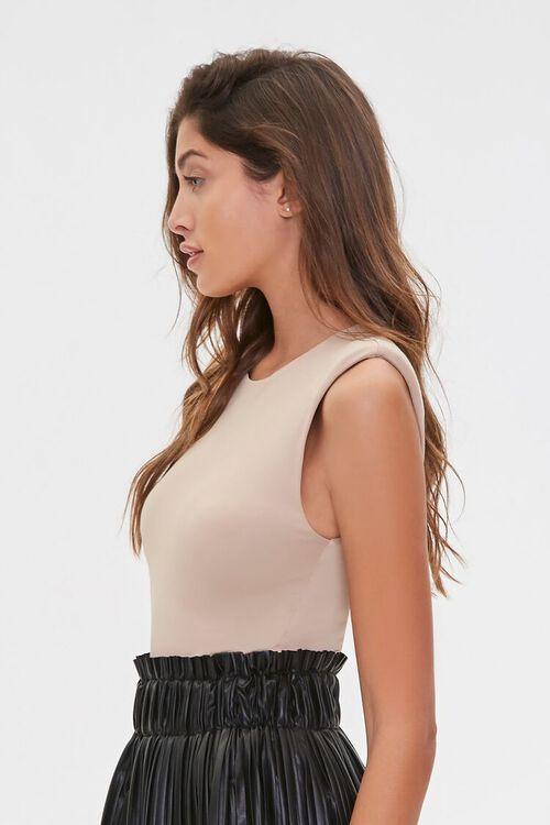Sleeveless Knit Bodysuit, image 2
