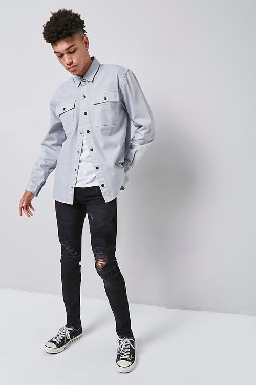 Buttoned Flap Pocket Shirt, image 4