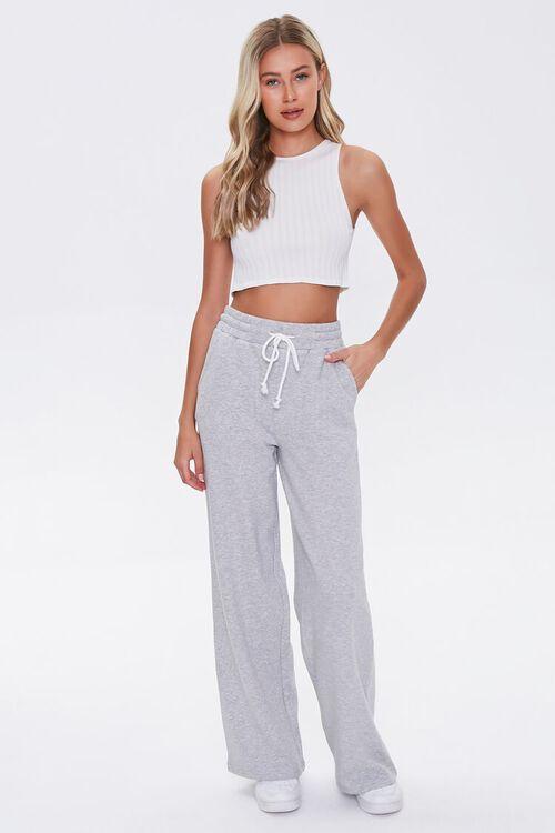 Wide-Leg Drawstring Sweatpants, image 5