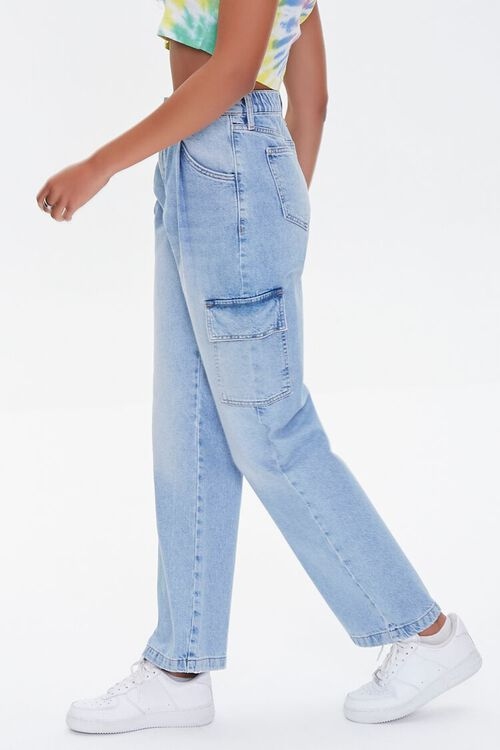 Cargo Straight-Leg Jeans, image 3