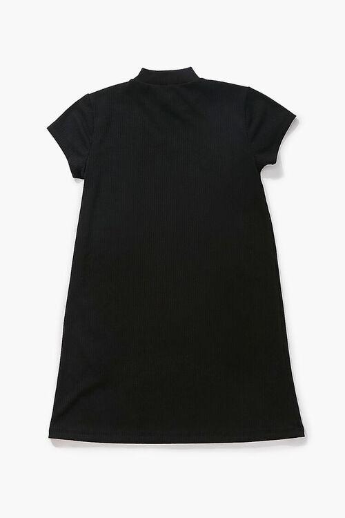 Girls Half-Zip Dress (Kids), image 2