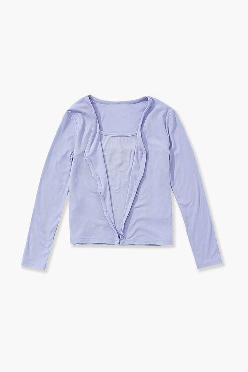 Girls Cami & Cardigan Sweater Set (Kids), image 1