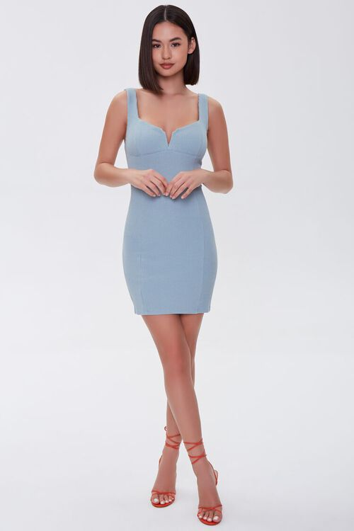 Notched Bodycon Dress, image 4
