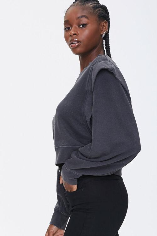 Layered Fleece Sweatshirt, image 2