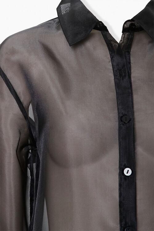 Sheer Organza Shirt, image 4