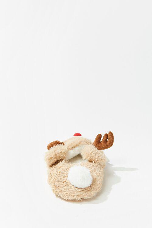 Plush Reindeer Slippers, image 3
