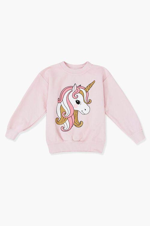 Girls Unicorn Graphic Sweatshirt (Kids), image 1