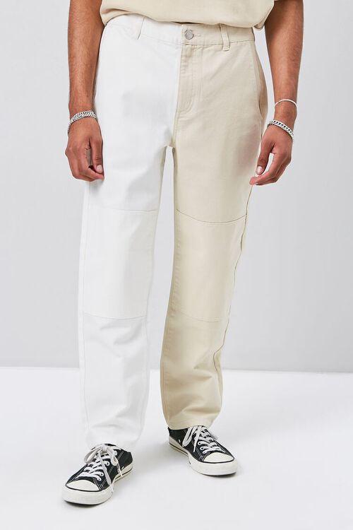 Colorblock Canvas Pants, image 2