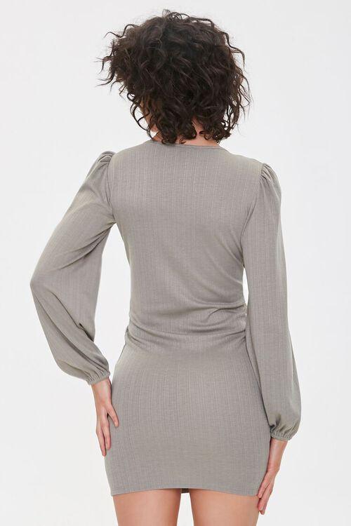 Cutout Bodycon Mini Dress, image 3