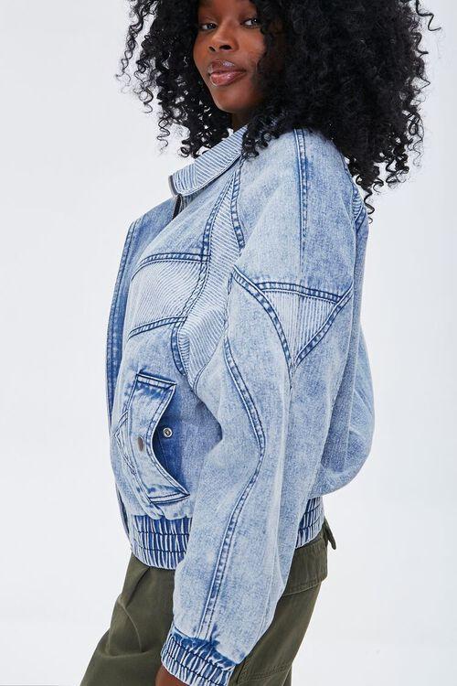 Ribbed Denim Jacket, image 2